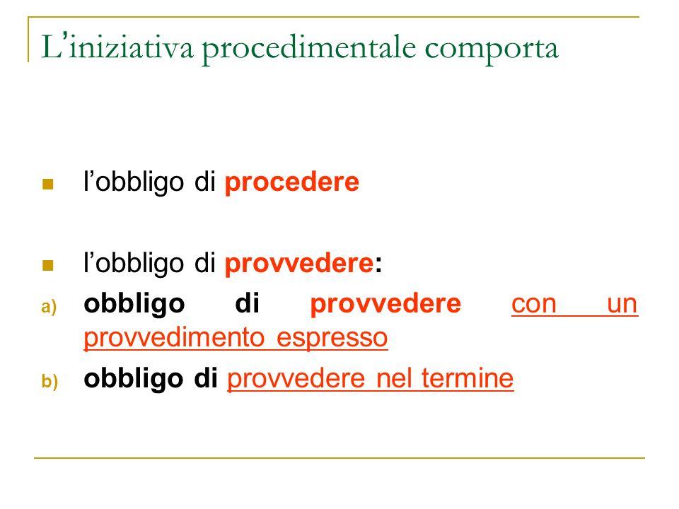 Conclusione del procedimento (art.