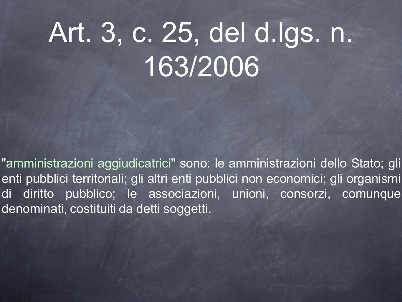 Art. 3, c. 25, del d.lgs. n.