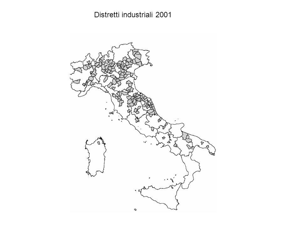 Distretti industriali 2001