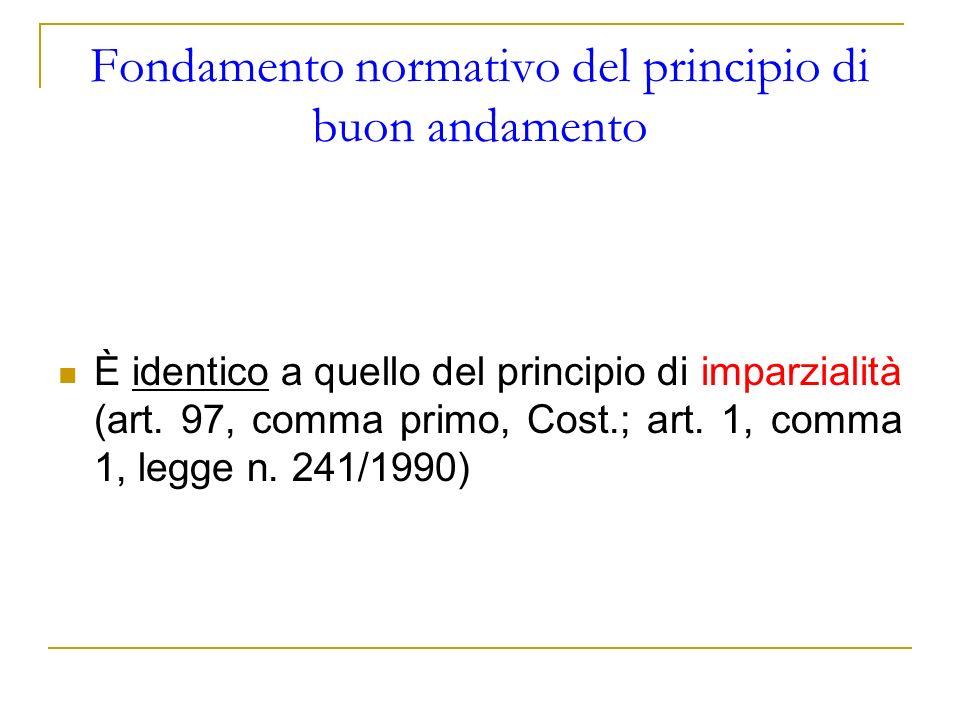 Fondamento del principio di sussidiarietà ORIZZONTALE (art.