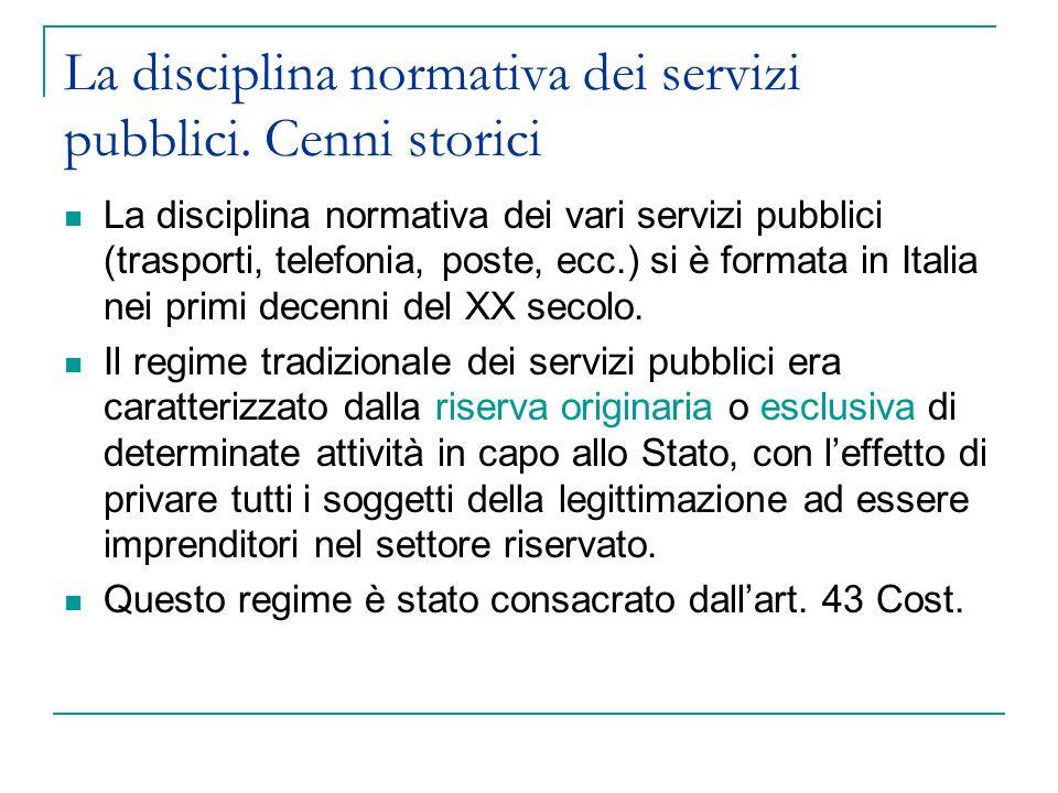 Forme di gestione Diretta (Es.