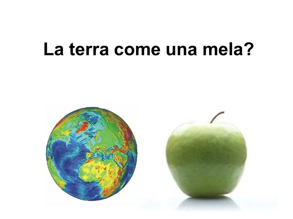 La terra come una mela?