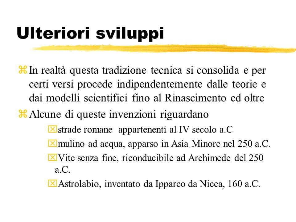 Ulteriori sviluppi /2 xTurbina a vapore, usata da Erone di Alessandria, 60 a.C.