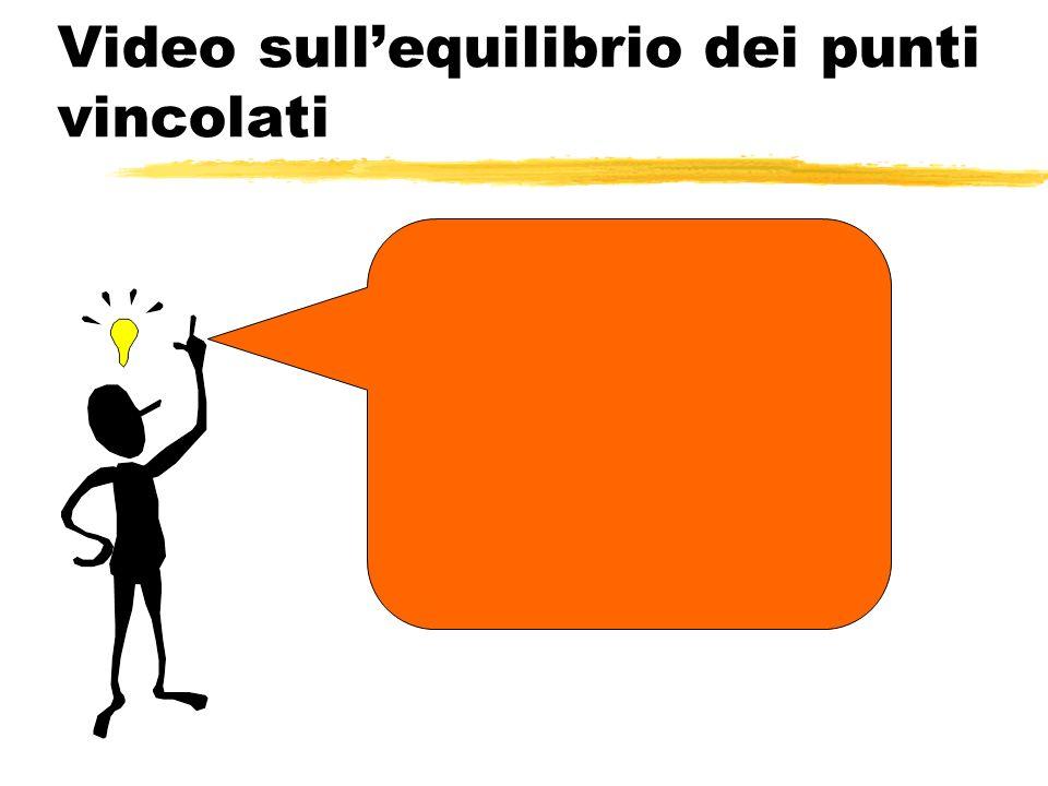 Video sullequilibrio dei punti vincolati