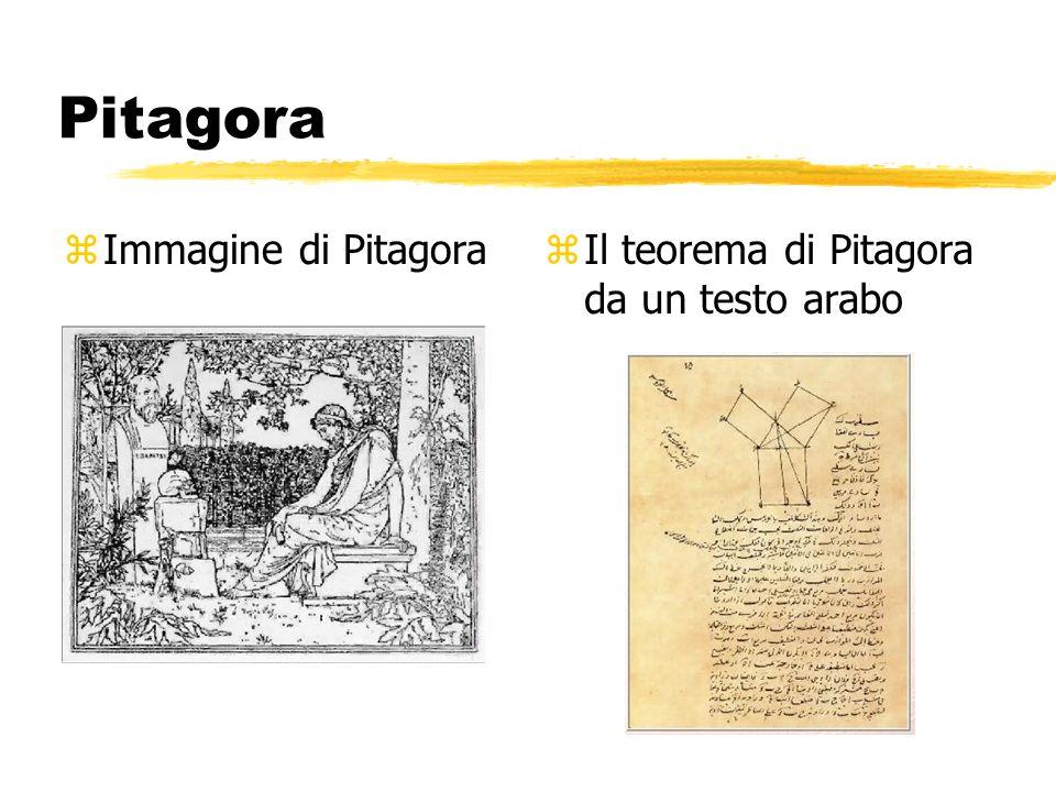 Pitagora zImmagine di Pitagoraz Il teorema di Pitagora da un testo arabo