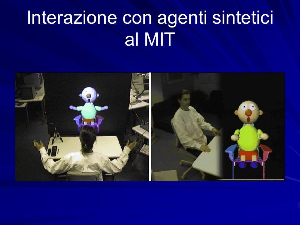Interazione con agenti sintetici al MIT