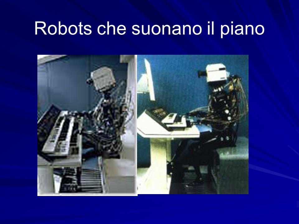 Robots che suonano il piano