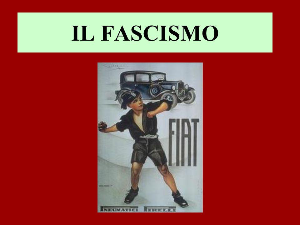 Il 22 ottobre del 1922 fu attuata dai fascisti la marcia su Roma.