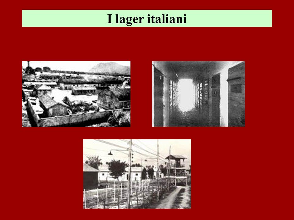 I lager italiani