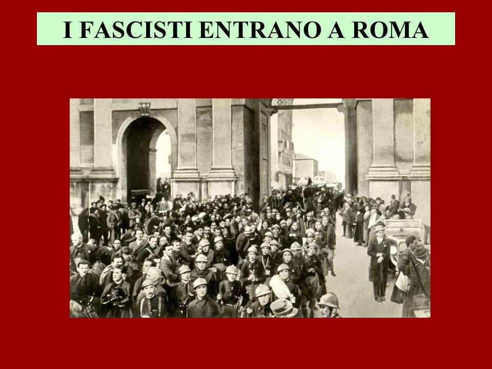 I FASCISTI ENTRANO A ROMA