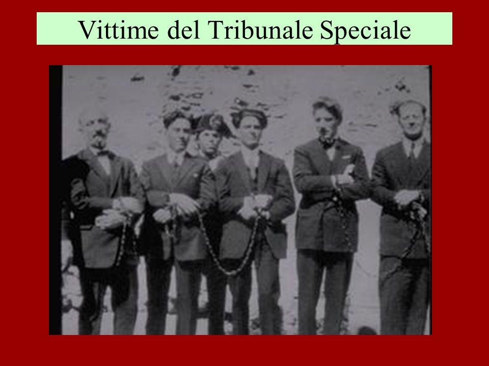 Vittime del Tribunale Speciale
