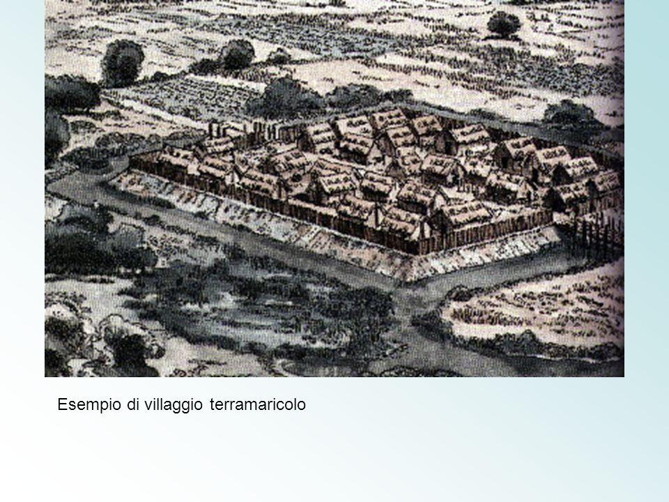 Esempio di villaggio terramaricolo
