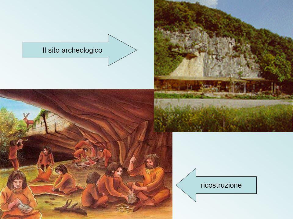 ricostruzione Il sito archeologico
