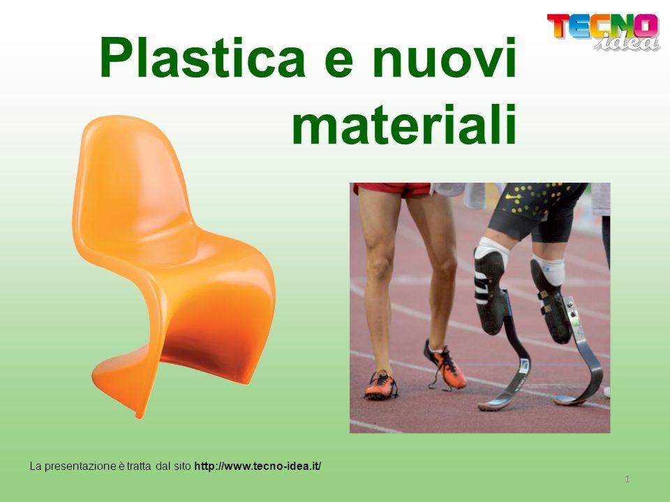 Plastica e nuovi materiali La presentazione è tratta dal sito http://www.tecno-idea.it/ 1