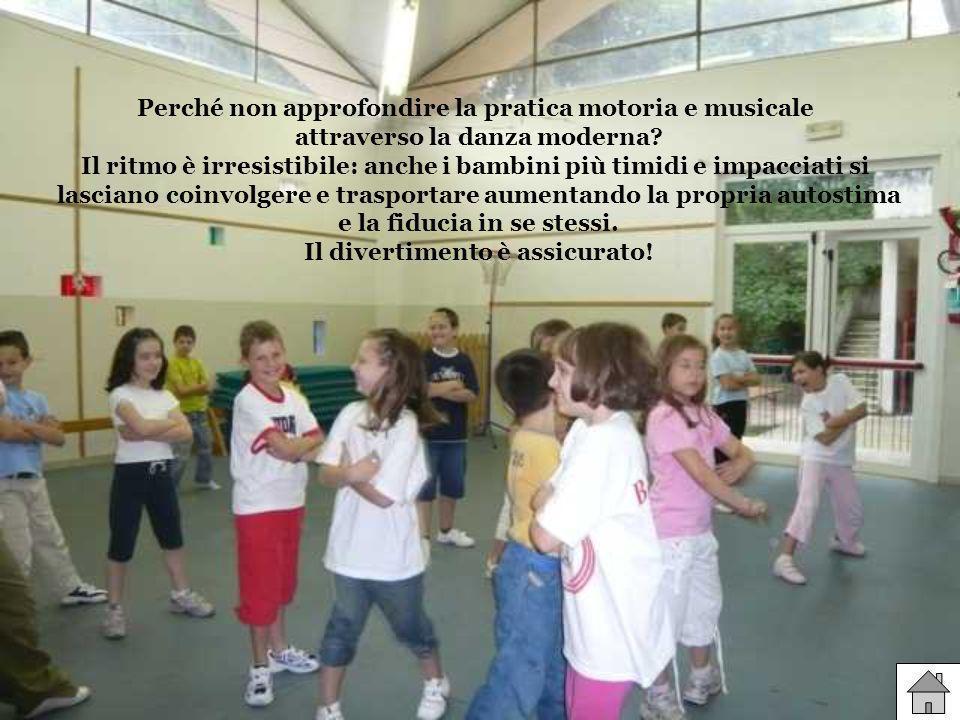Perché non approfondire la pratica motoria e musicale attraverso la danza moderna.