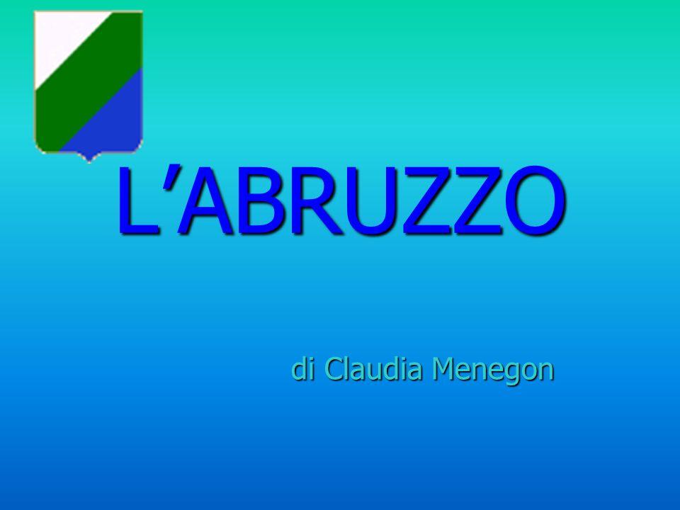 Posizione e Confini LAbruzzo è situato nnnn eeee llll llll IIII tttt aaaa llll iiii aaaa c c c c eeee nnnn tttt rrrr oooo ---- oooo rrrr iiii eeee nnnn tttt aaaa llll eeee e e e e e confina a sud con il Molise, a nord con le Marche, ad est con il mar Adriatico ed ad ovest con il Lazio.