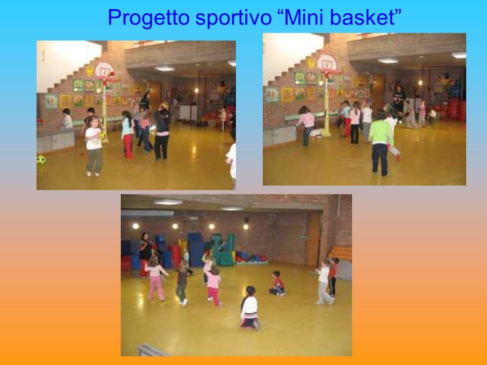 Progetto sportivo Mini basket