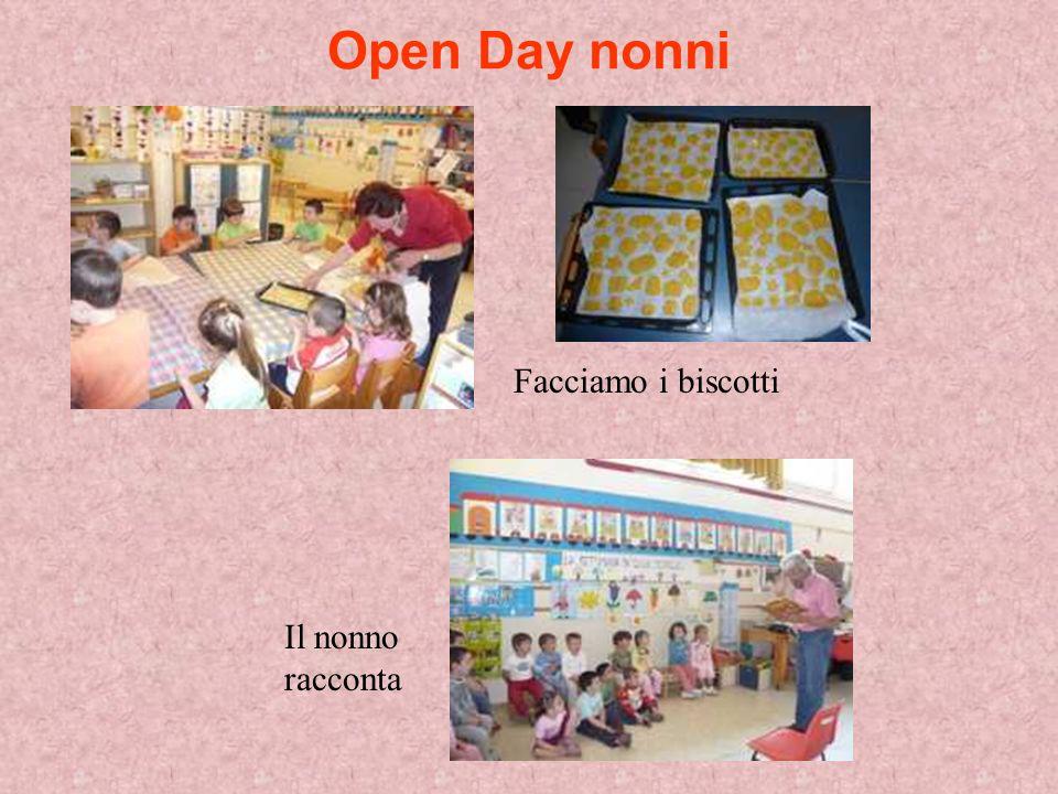 Open Day nonni Facciamo i biscotti Il nonno racconta
