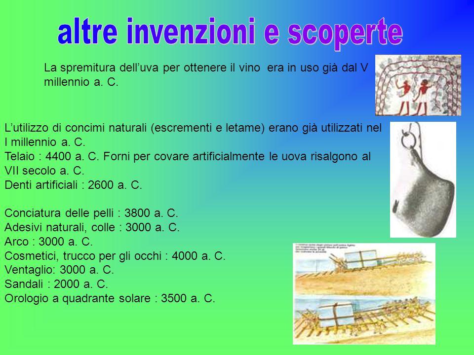 La spremitura delluva per ottenere il vino era in uso già dal V millennio a. C. Lutilizzo di concimi naturali (escrementi e letame) erano già utilizza