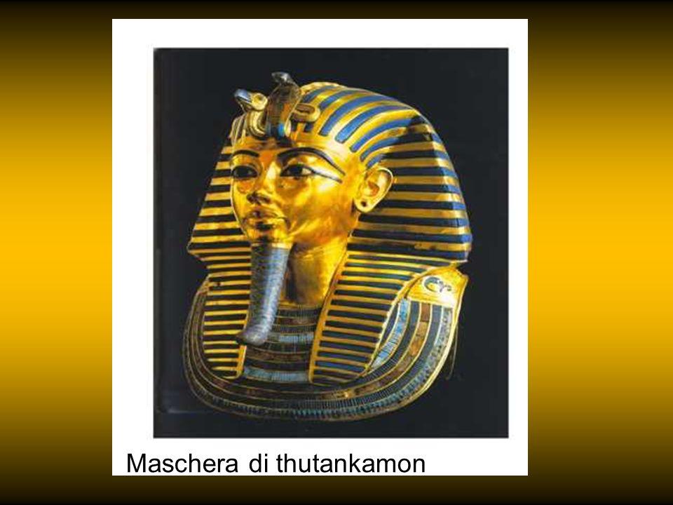 Maschera di thutankamon