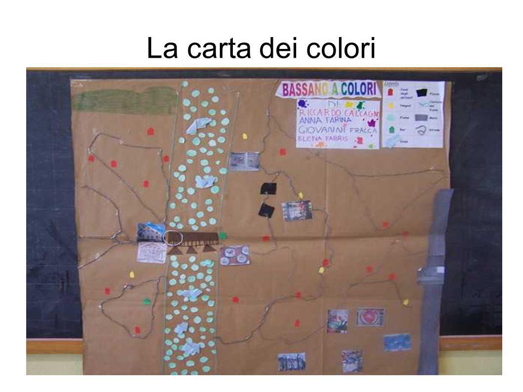 La carta dei colori