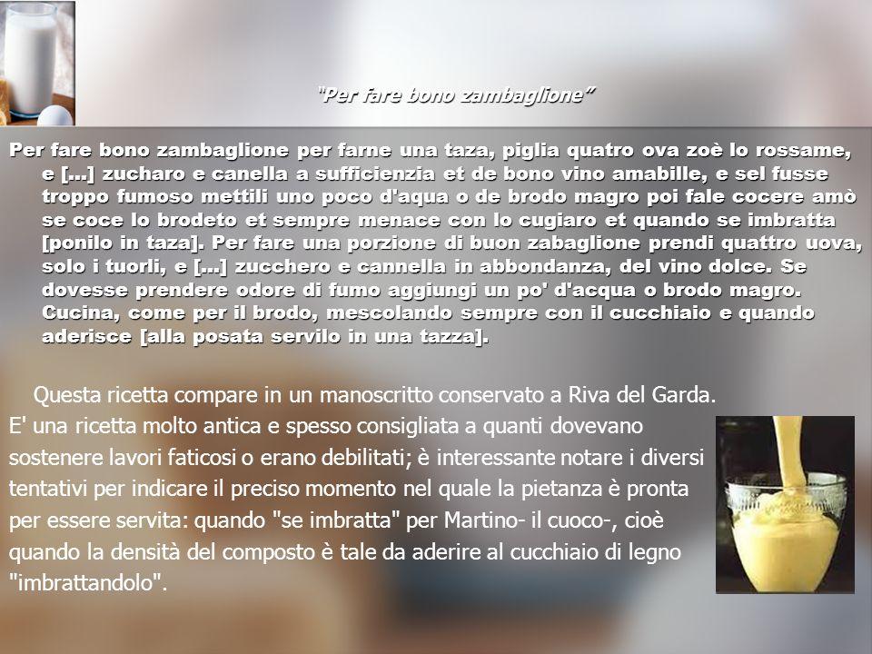 Ricette dellepoca IL TIRAMISU La sua invenzione risale alla fine del 1600 in Toscana, quando il duca Cosimo III de Medici visitò Siena.