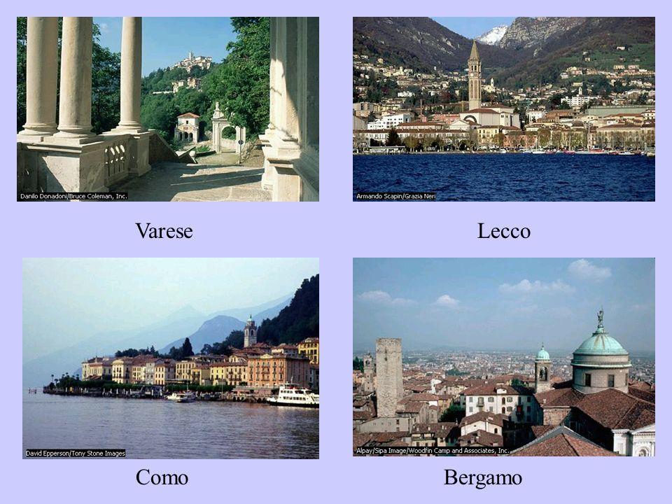 Varese Lecco ComoBergamo