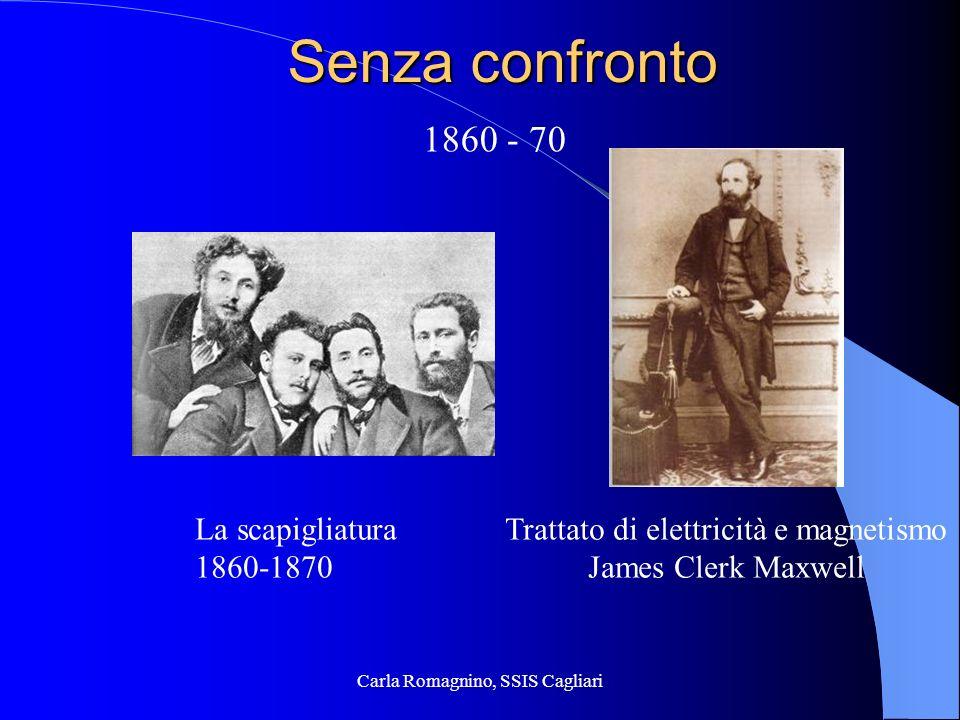 Carla Romagnino, SSIS Cagliari Eppure … Con James Clerk Maxwell unepoca si chiudeva e unaltra si apriva (A.