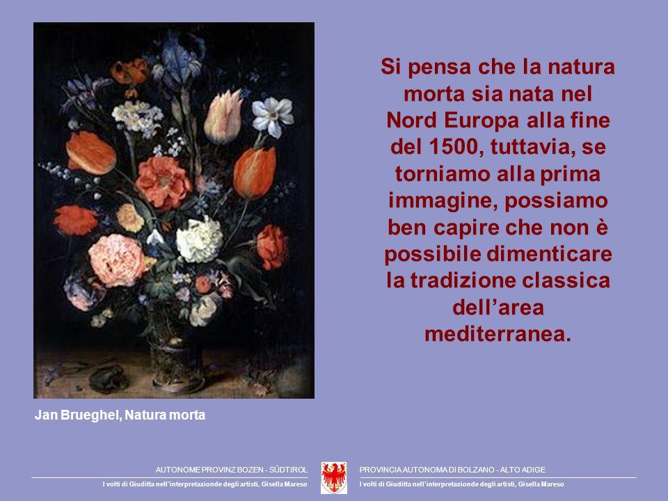 Si pensa che la natura morta sia nata nel Nord Europa alla fine del 1500, tuttavia, se torniamo alla prima immagine, possiamo ben capire che non è possibile dimenticare la tradizione classica dellarea mediterranea.