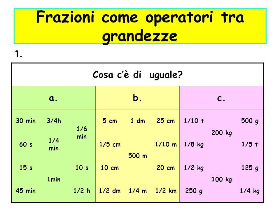 2.Quali tra le seguenti lunghezze sono uguali.Riscrivi tutte le lunghezze in ordine crescente.