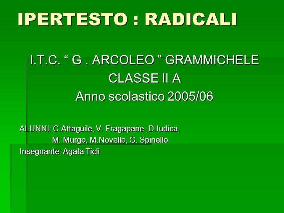 Operazioni con i radicali - Moltiplicazione di 2 o più radicali avente lo stesso indiceMoltiplicazione di 2 o più radicali avente lo stesso indice - Divisione di due o più radicali aventi lo stesso indiceDivisione di due o più radicali aventi lo stesso indice - Radice di radiceRadice di radice - Potenze ad esponente frazionarioPotenze ad esponente frazionario - Radicali similiRadicali simili - RazionalizzazioneRazionalizzazione - Radicali doppiRadicali doppi - EquazioniEquazioni - Metodo di CramerMetodo di Cramer - Trasporto fuori il segno di radice di 1 o più fattoriTrasporto fuori il segno di radice di 1 o più fattori - Trasporto dentro al segno di radice di 1 o più fattoriTrasporto dentro al segno di radice di 1 o più fattori - Potenza di radicaliPotenza di radicali Realizzatori