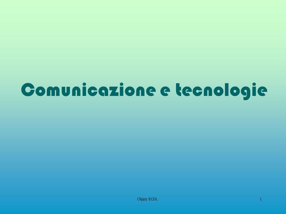 Clippy ECDL1 Comunicazione e tecnologie