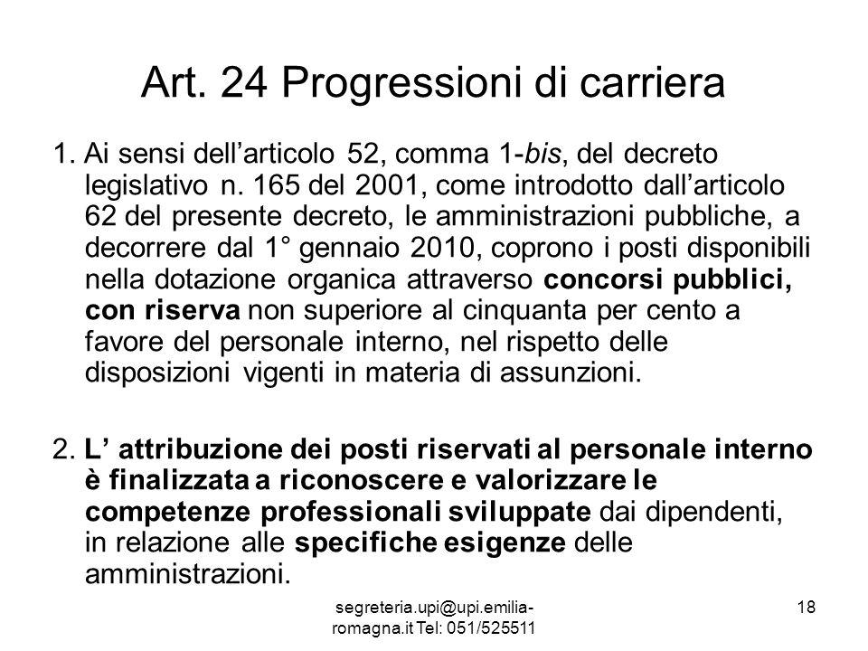 segreteria.upi@upi.emilia- romagna.it Tel: 051/525511 18 Art.