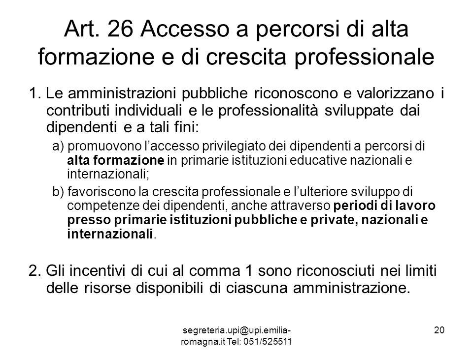segreteria.upi@upi.emilia- romagna.it Tel: 051/525511 20 Art.