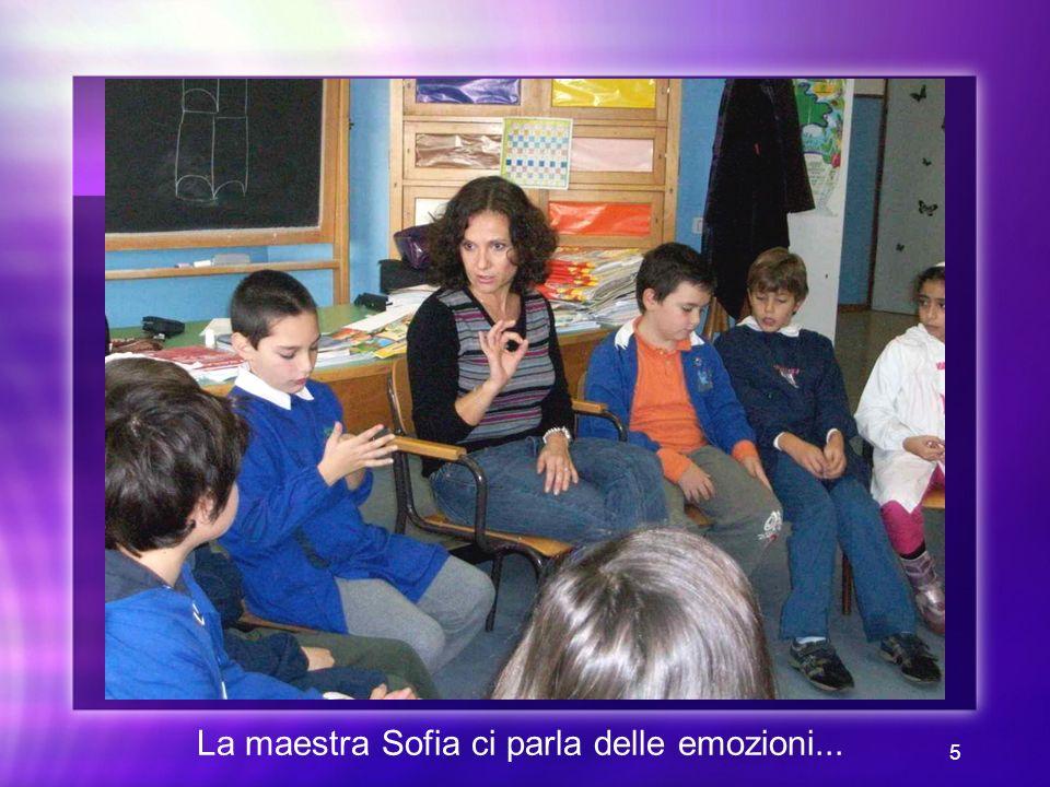 5 La maestra Sofia ci parla delle emozioni...