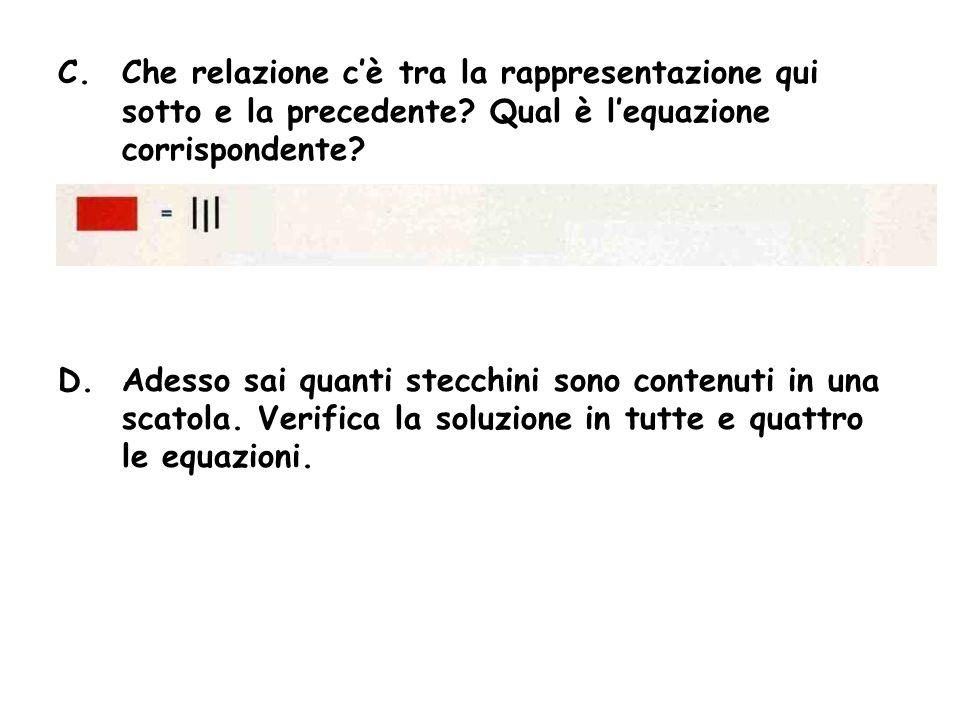 ATTIVITA 2 Cosa succede se nella prima equazione consideri la metà da entrambe le parti.