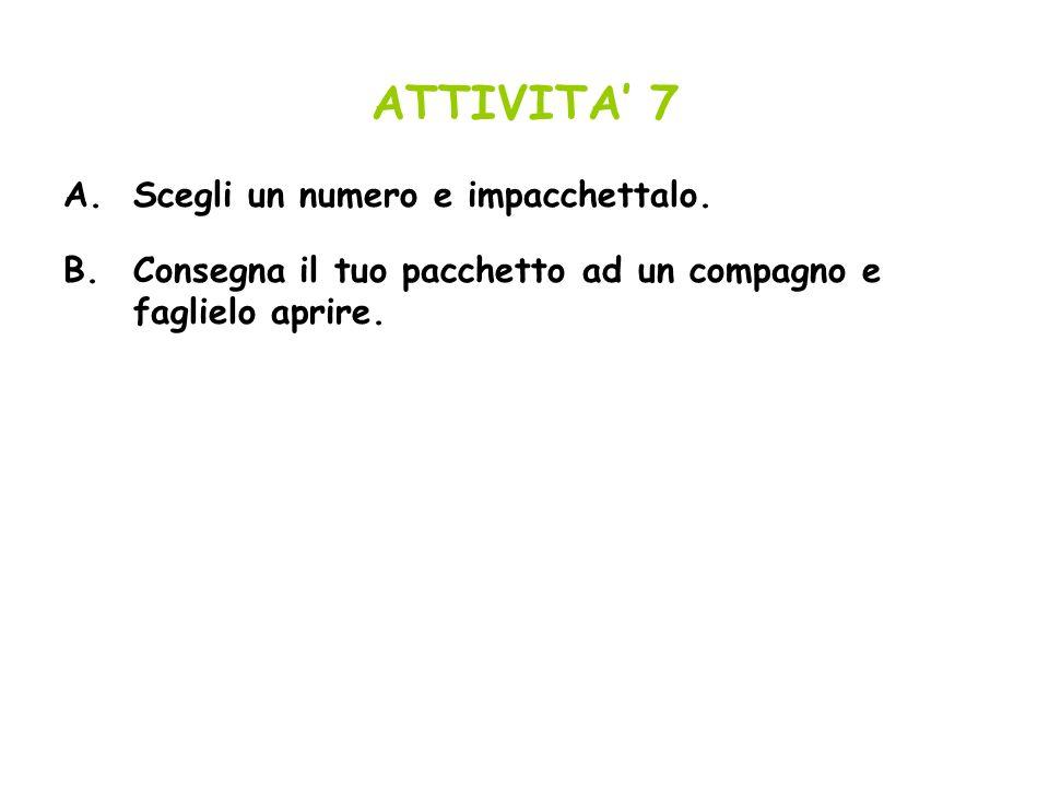 ATTIVITA 8 A.Descrivi i tre percorsi risolutivi qui sotto.Come si passa, di volta in volta, da unequazione alla successiva.