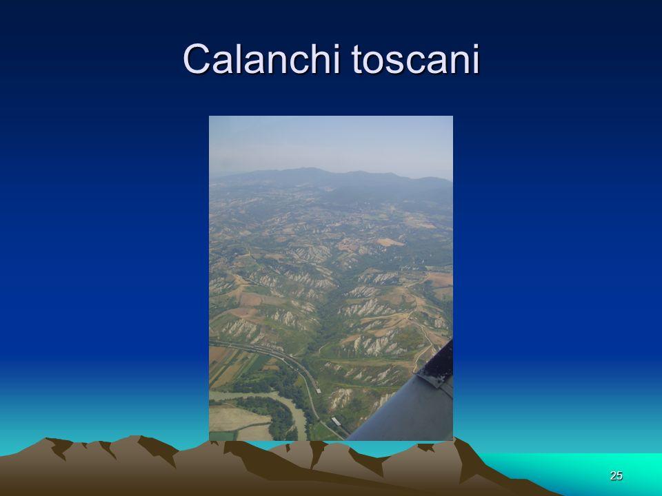 25 Calanchi toscani