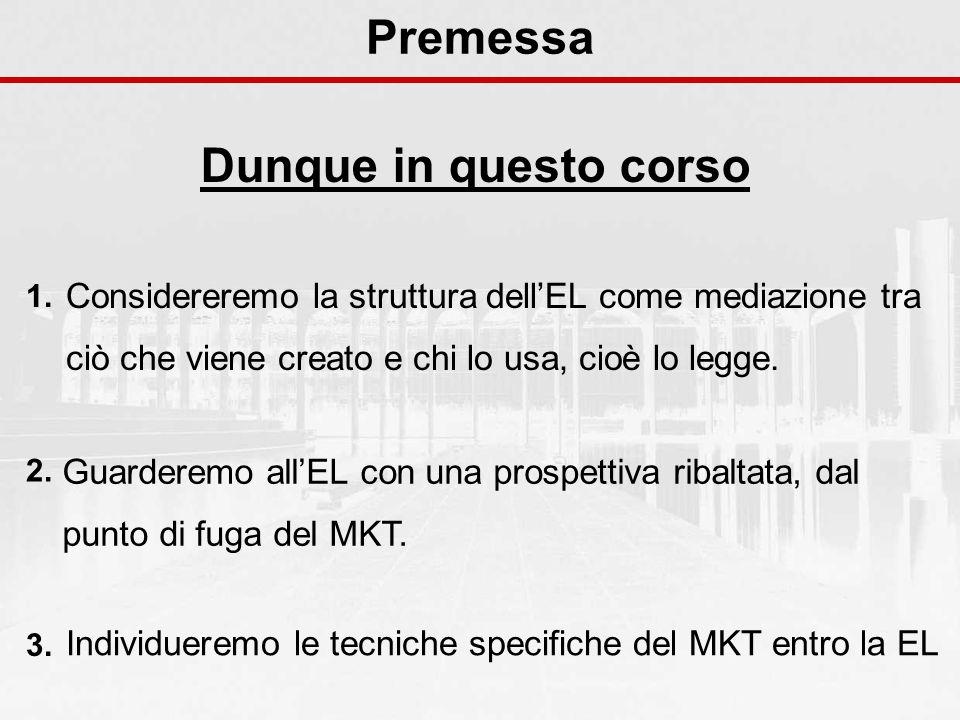 Il programma del corso Capitolo 7 (16/11) Personaggi e interpreti a.