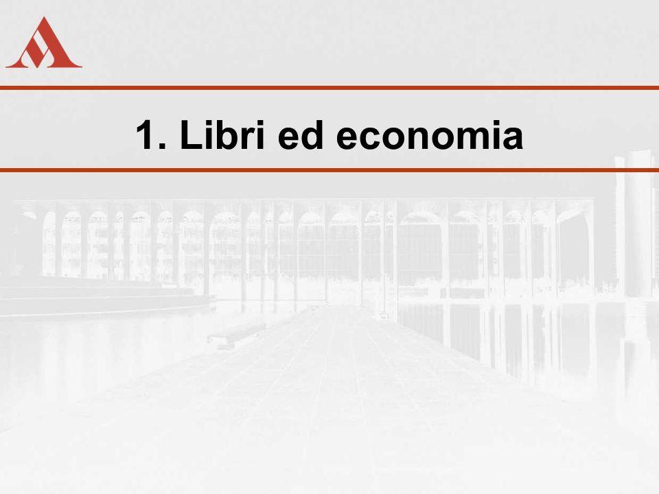 Libri ed economia Libri ed economia: la natura della relazione Primo principio Il risultato economico non è una variabile indipendente dellattività editoriale Corollari - Non è un aspetto tra gli altri - Non è vile