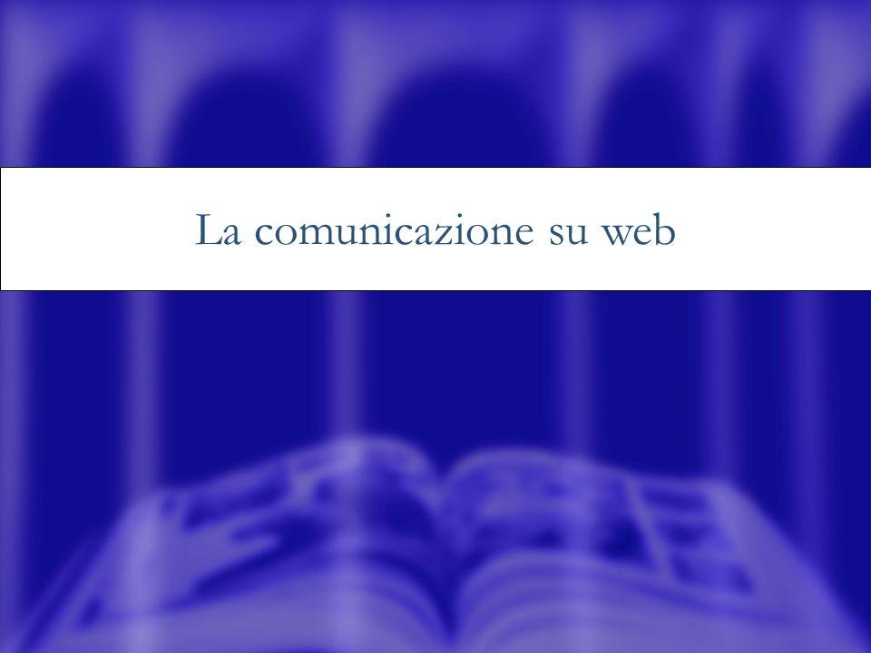 La comunicazione su web