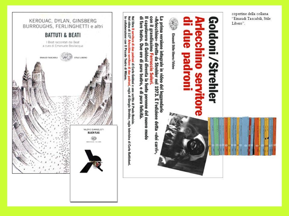 copertine della collana Einaudi Tascabili, Stile Libero.