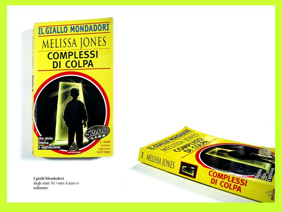 I gialli Mondadori dagli anni 90 verso il nuovo millennio