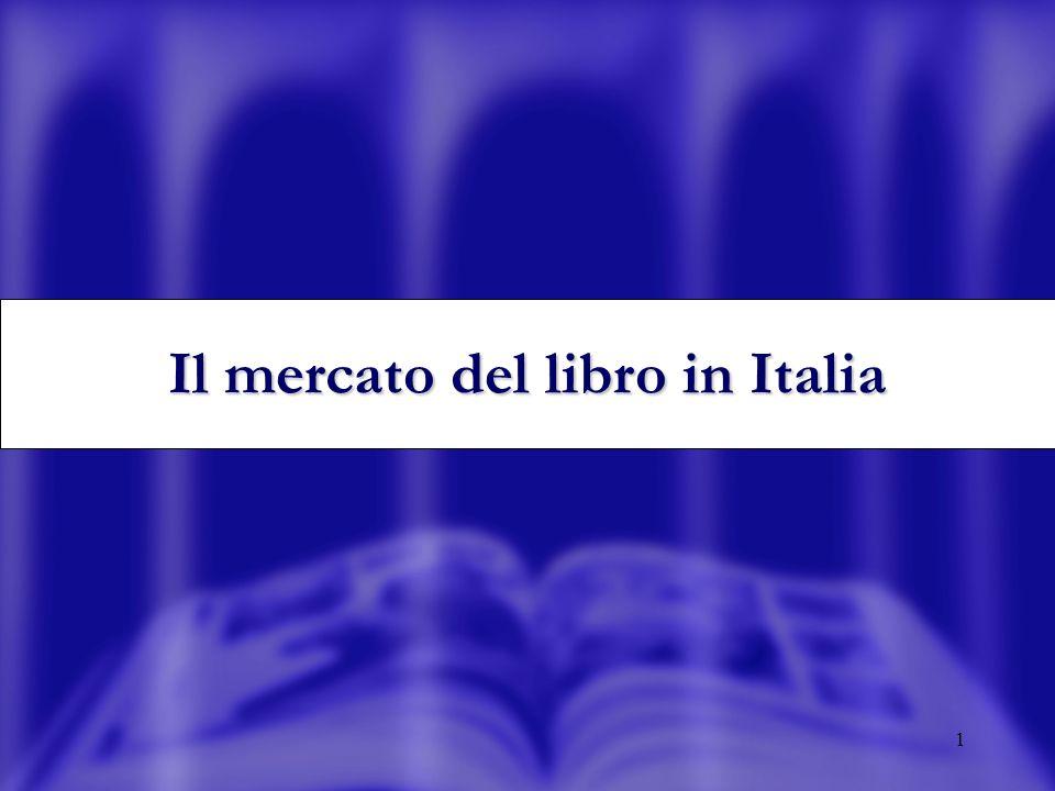 2 Il mercato del libro in Italia: la dimensione totale (mln ) 1998199920002001200220042005 2.2682.2922.3062.3402.5713.3973.829