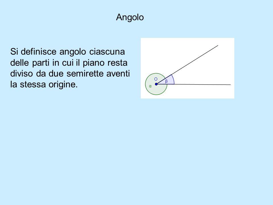 Due angoli sono adiacenti quando sono consecutivi e gli altri due lati giacciono sulla stessa retta V F Due angoli adiacenti sono supplementari V F Due angoli si dicono complementari quando la loro somma è 180 V F Langolo giro è concavo VF Un angolo di 90 0 può essere somma di due angoli acuti VF