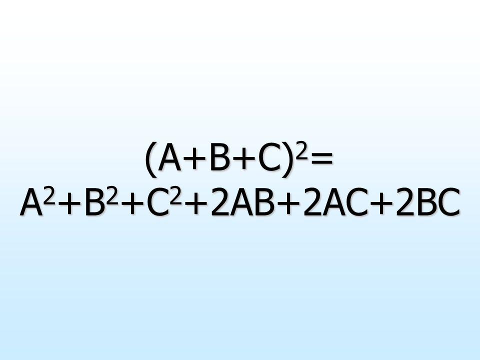 Analogamente a quanto appena visto consideriamo tre generici monomi che indichiamo con A, B e C; la loro somma è il trinomio A+B+C. Per definizione di