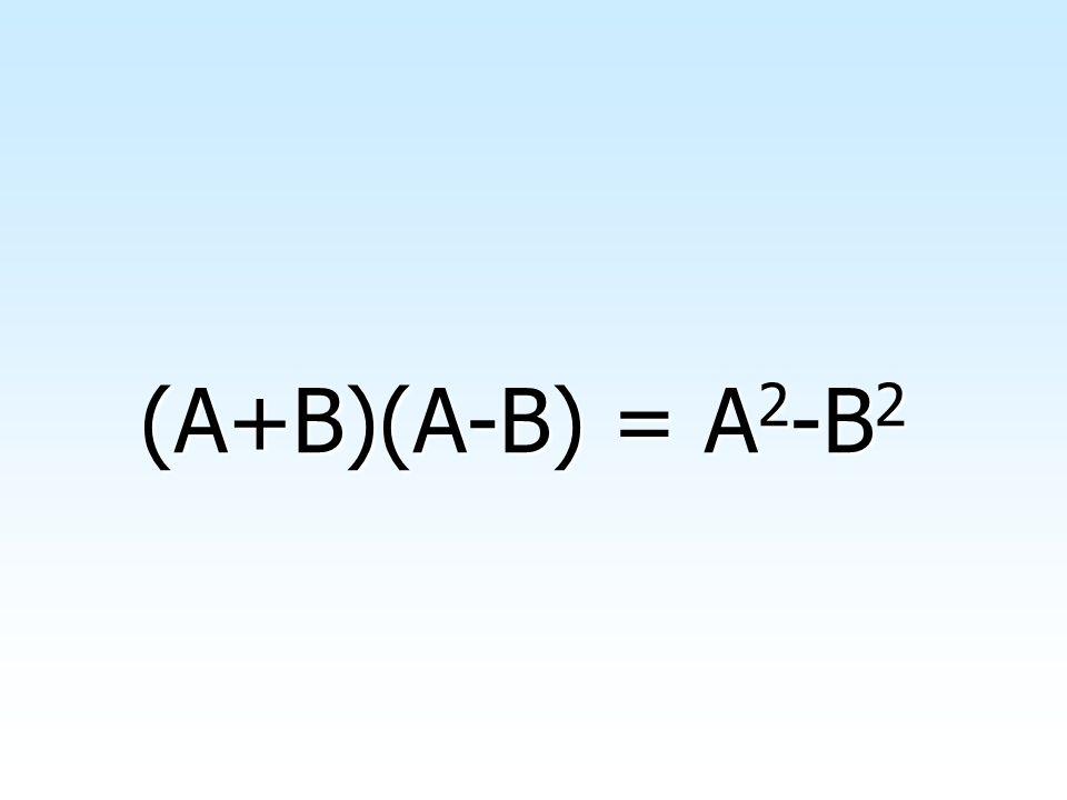 Siano A e B due generici monomi; calcolando il prodotto della loro somma A+B per la differenza A-B, si ha: (A+B)(A-B)=A 2 +AB-BA-B 2 Da cui, elidendo