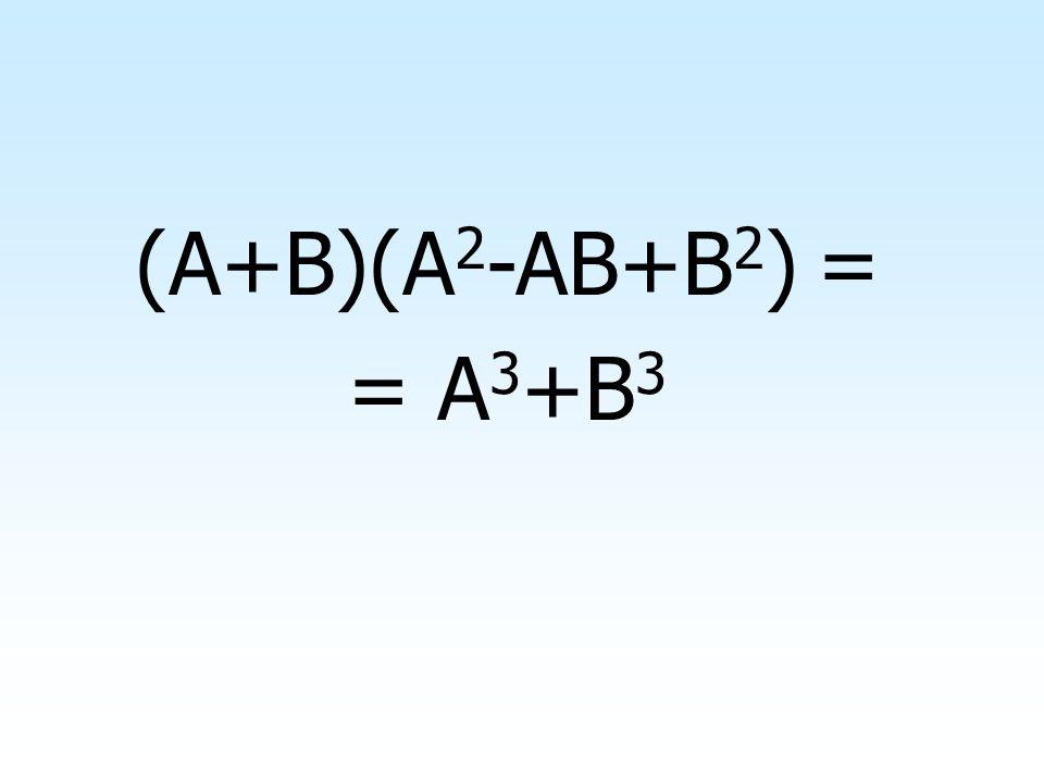 Altri prodotti notevoli frequenti e di grossa utilità sono il prodotto della somma di due monomi per il finto quadrato di binomio Altri prodotti notev