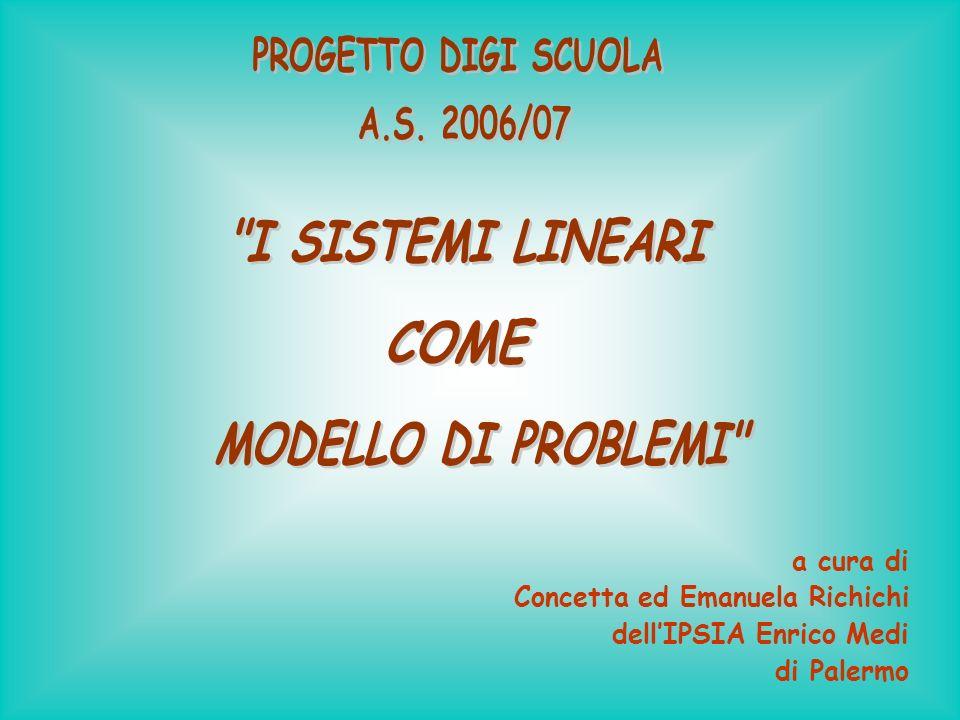 a cura di Concetta ed Emanuela Richichi dellIPSIA Enrico Medi di Palermo