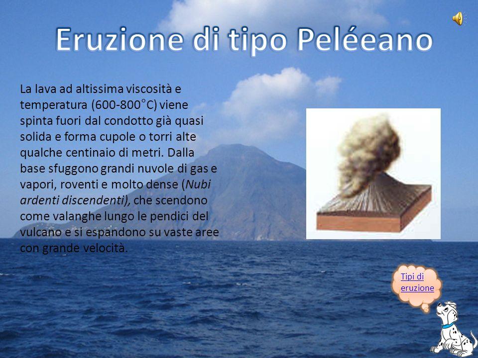 Presso Napoli, il Vesuvio² è un vulcano-strato che dà luogo a eruzioni esplosive.